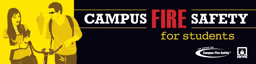NFPA CCFS campus fire safety campaign