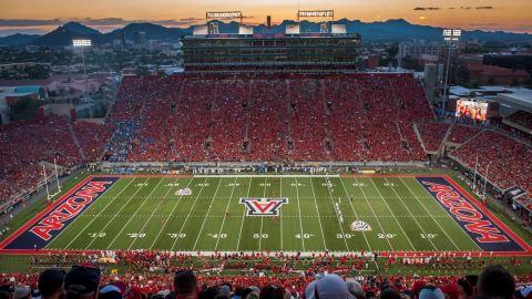 University of Arizona Athletics field - Aramark concessions
