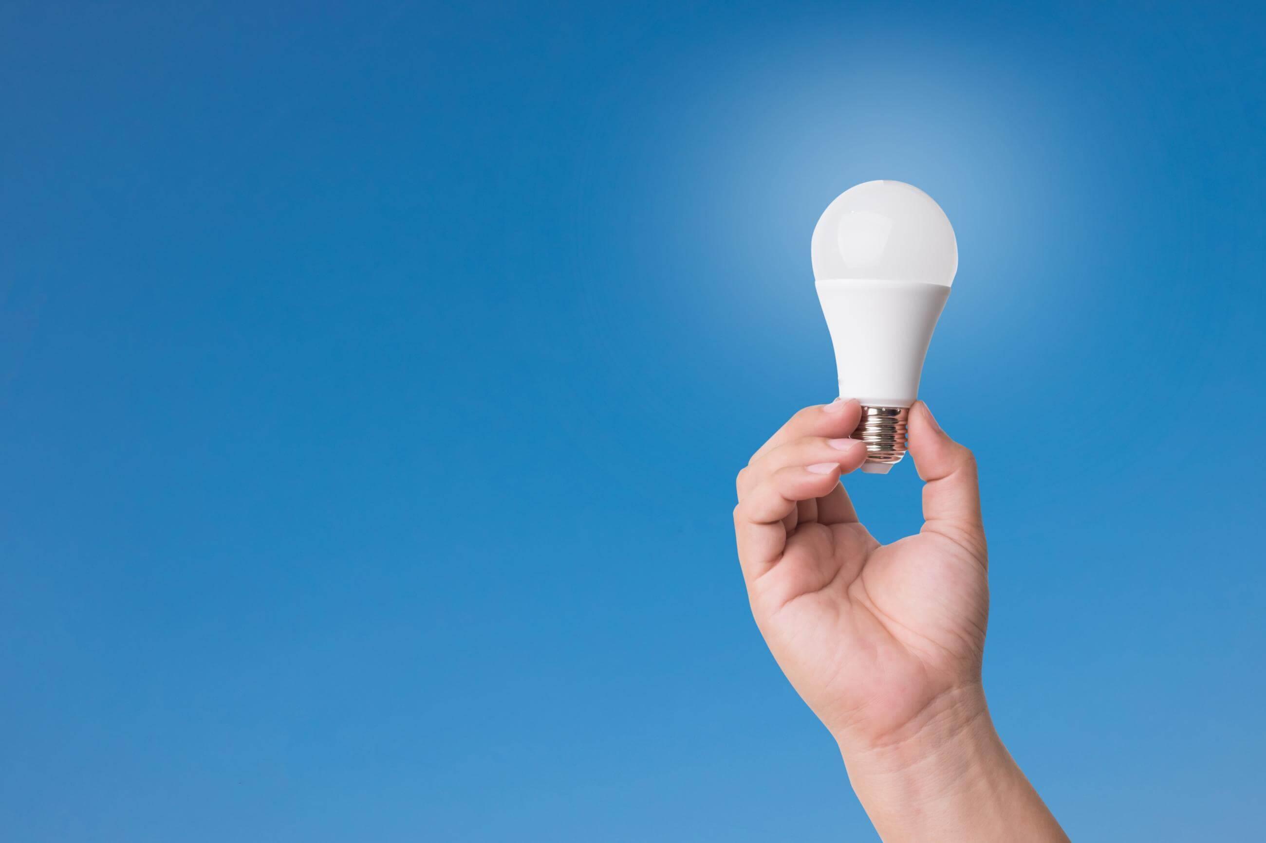 DOE energy-efficient light bulb