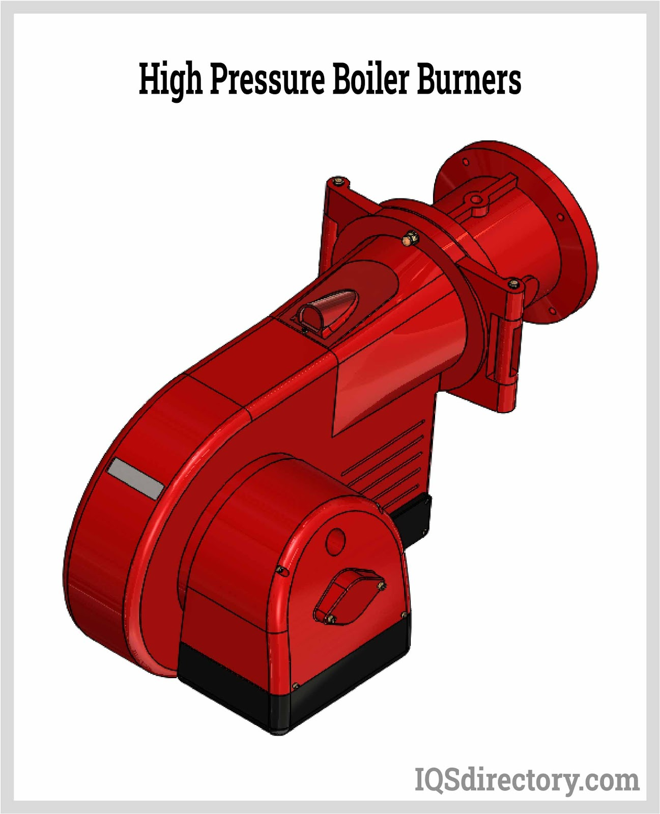 IQS high-pressure boiler burner