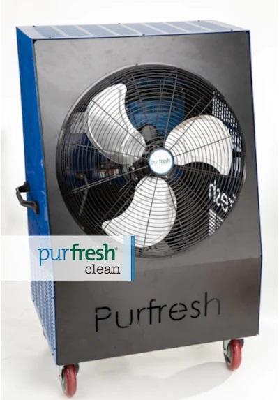 Purfresh Clean sanitizing unit